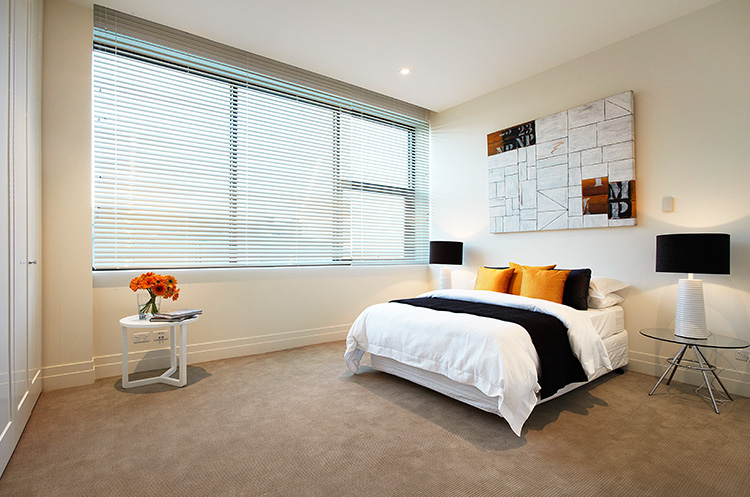 East Melbourne Bedroom