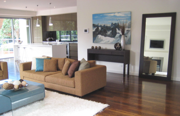 Balwyn living room