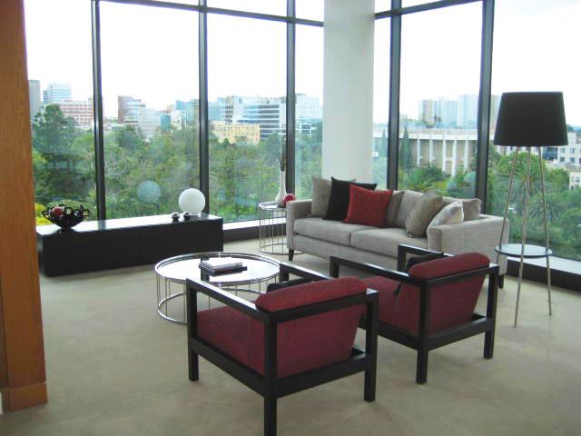 East Melbourne Living Room