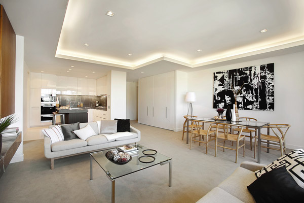 East Melbourne contemporary apartment