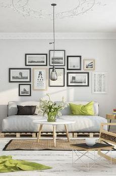 Choosing and hanging artwork
