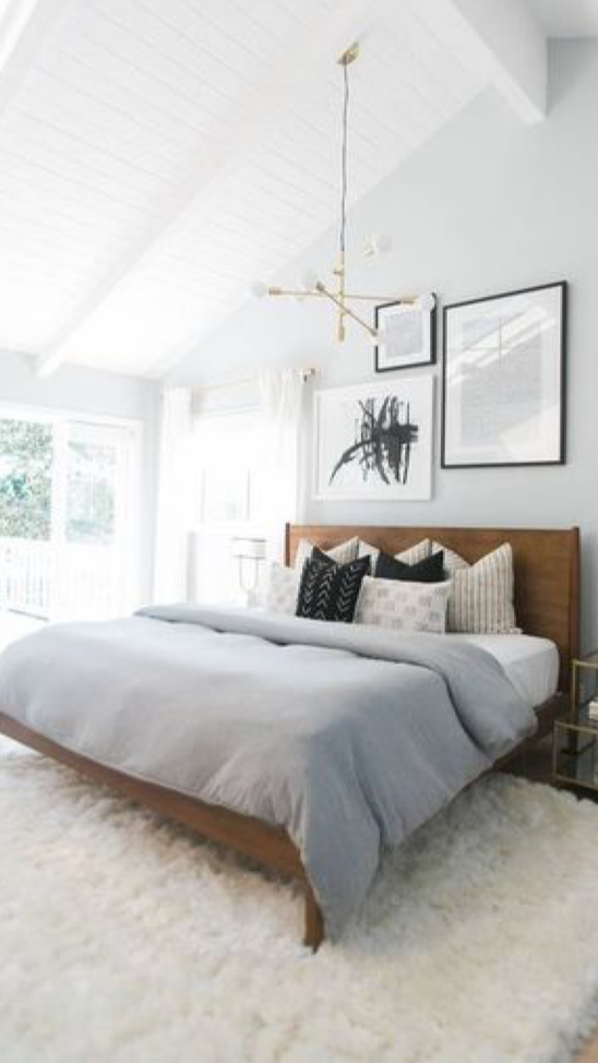 a fluffy bed to make your home cozy for winter