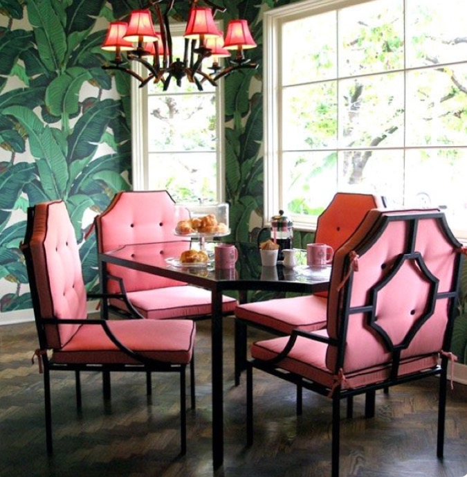 decorating dining ideas wallpaper