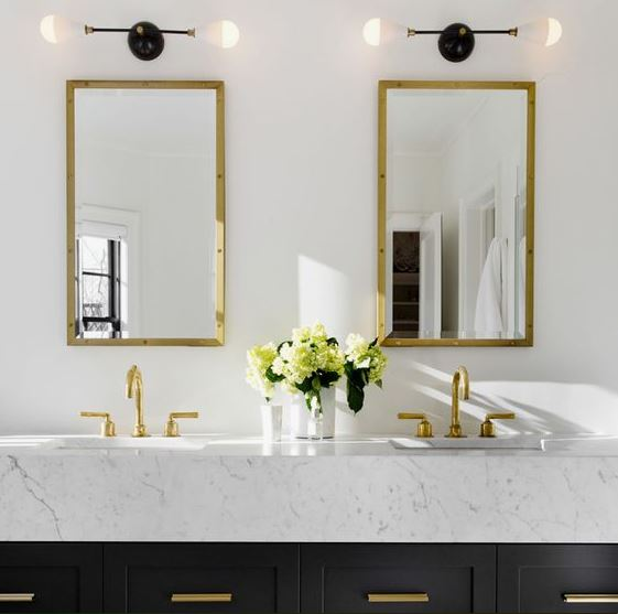 quick and easy bathroom decorating ideas mirrors