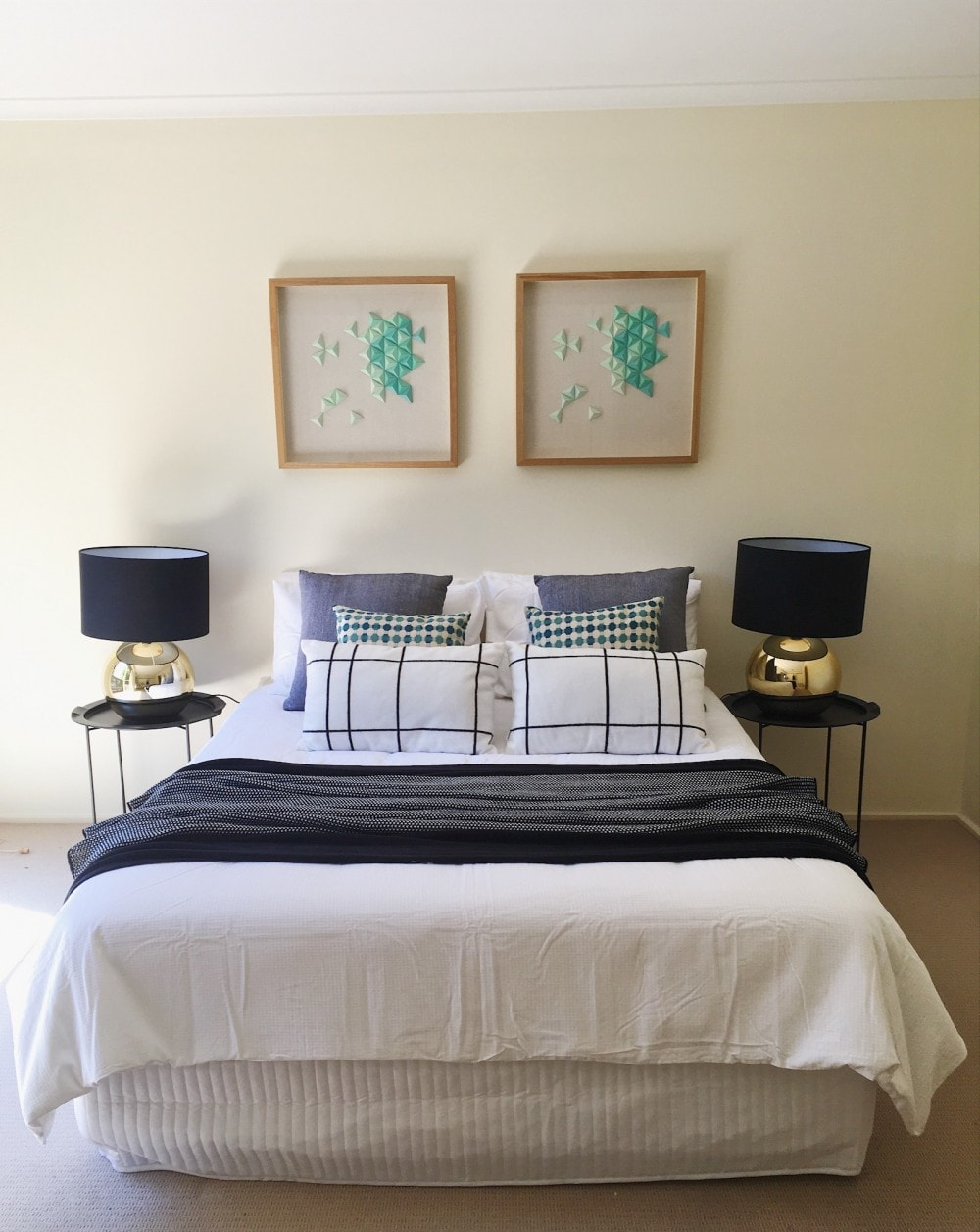 Bedroom - Property Styling Melbourne - Leeder Interiors
