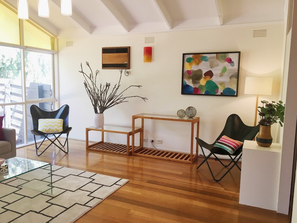Eclectic home property styling Melbourne Interior Design