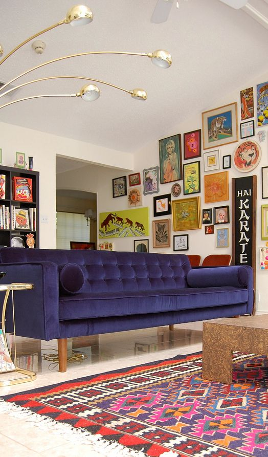 Decorating In An Eclectic Style Mid Century Modern Interior Design Melbourne