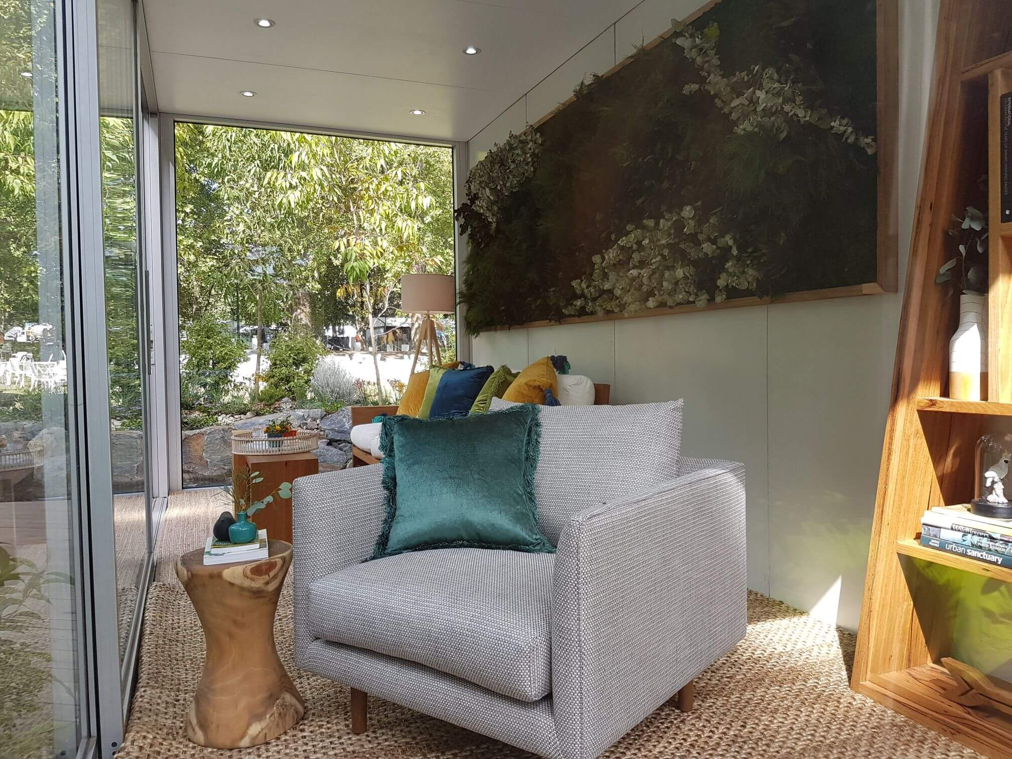 Outdoor Living Room - Interior Styling Melbourne - Leeder Interiors