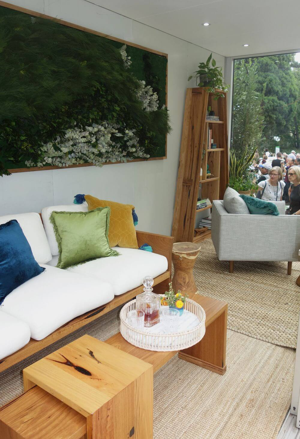 outdoor living spaces Melbourne International Flower and Garden Show - Interior Styling Melbourne - Leeder Interiors