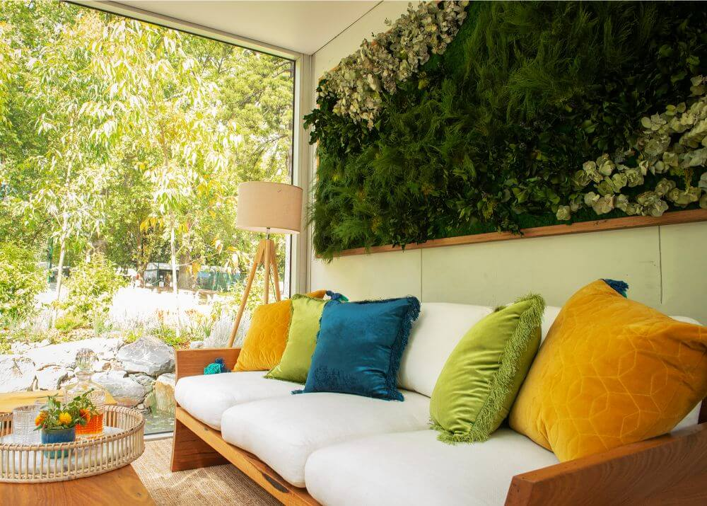 Outdoor Living Space - Interior Styling Melbourne - Leeder Interiors