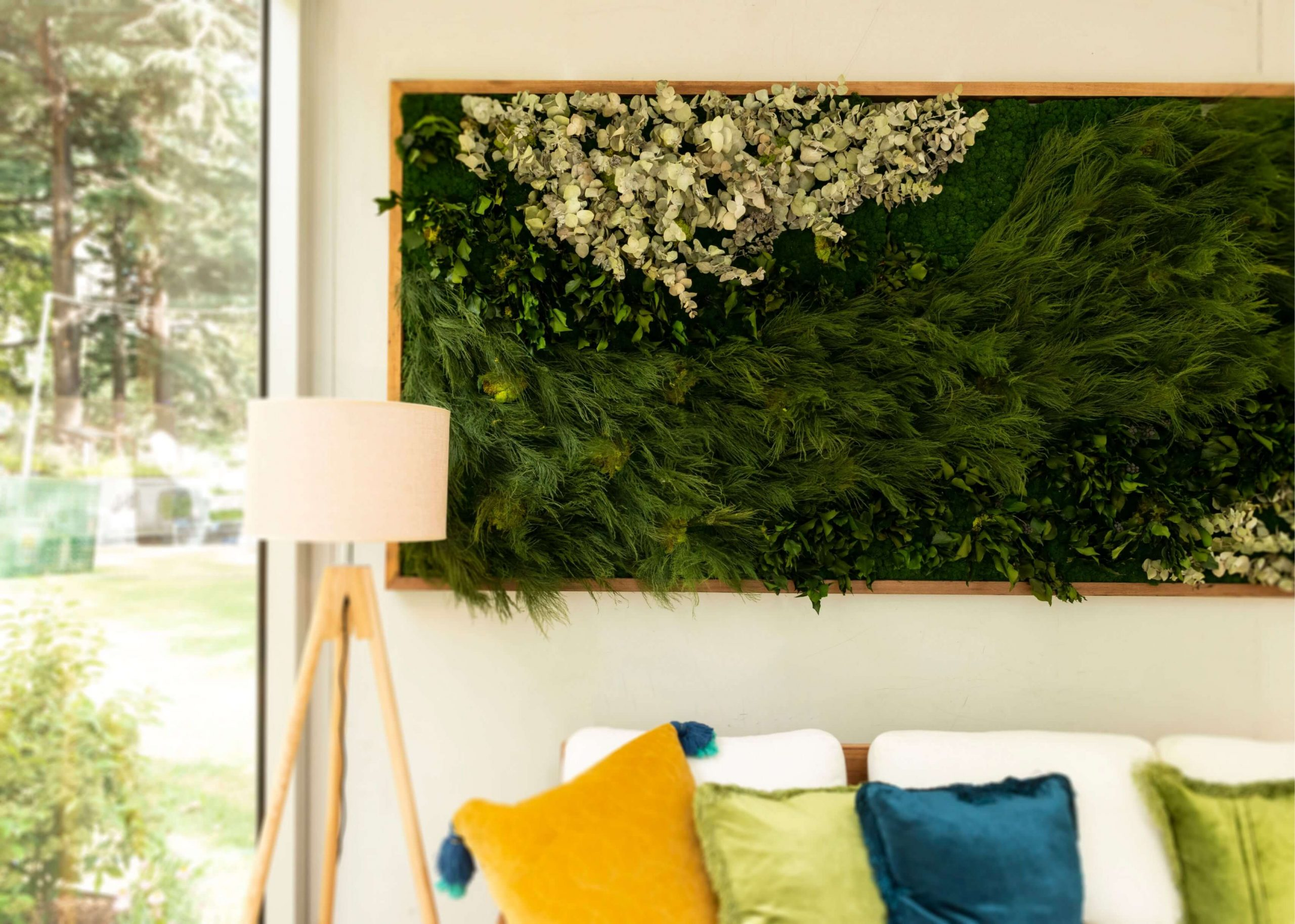 Green wall - Interior Styling Melbourne - Leeder Interiors