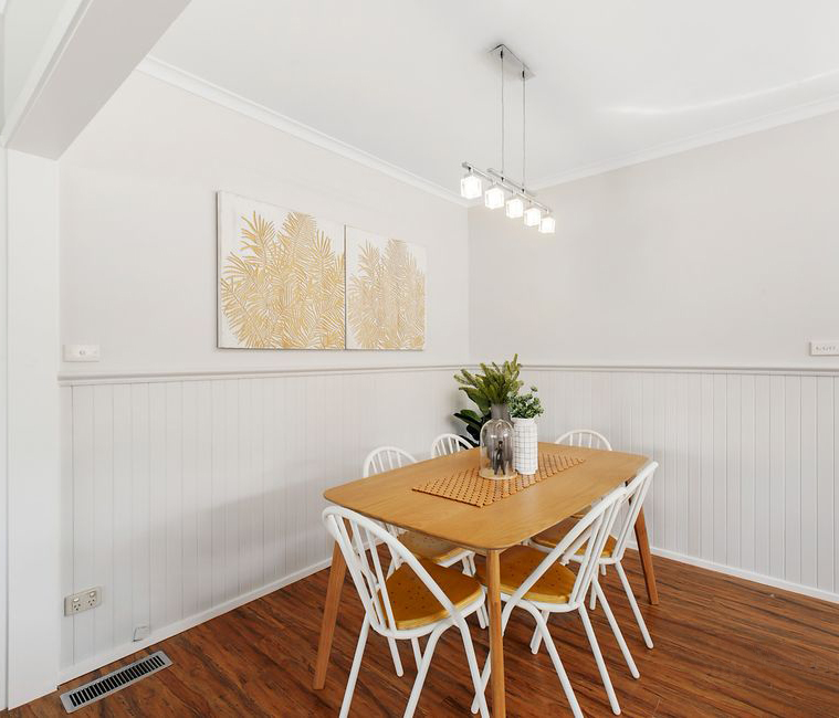 Dining room - Melbourne Property Styling - Leeder Interiors
