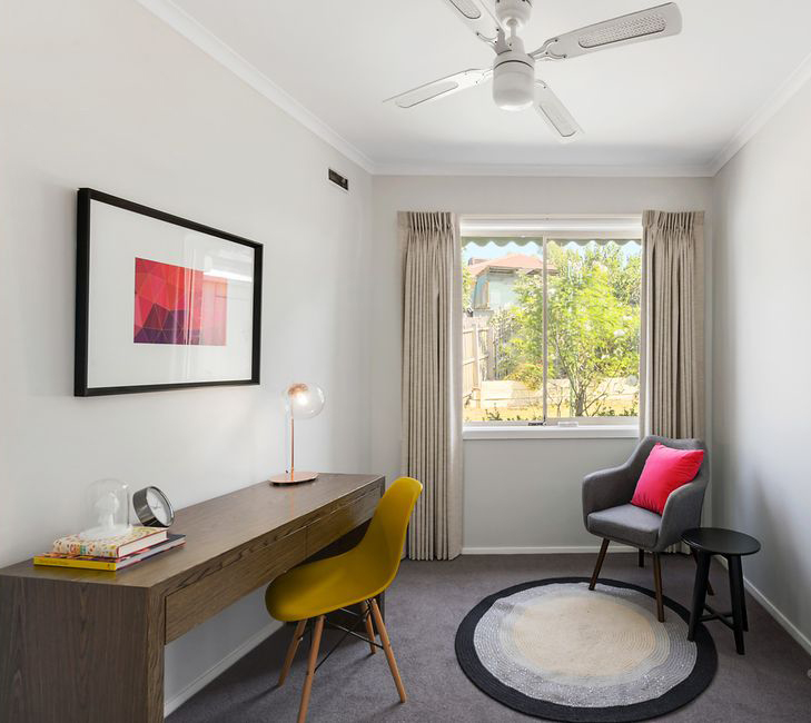 A small study space - Melbourne Property Styling - Leeder Interiors