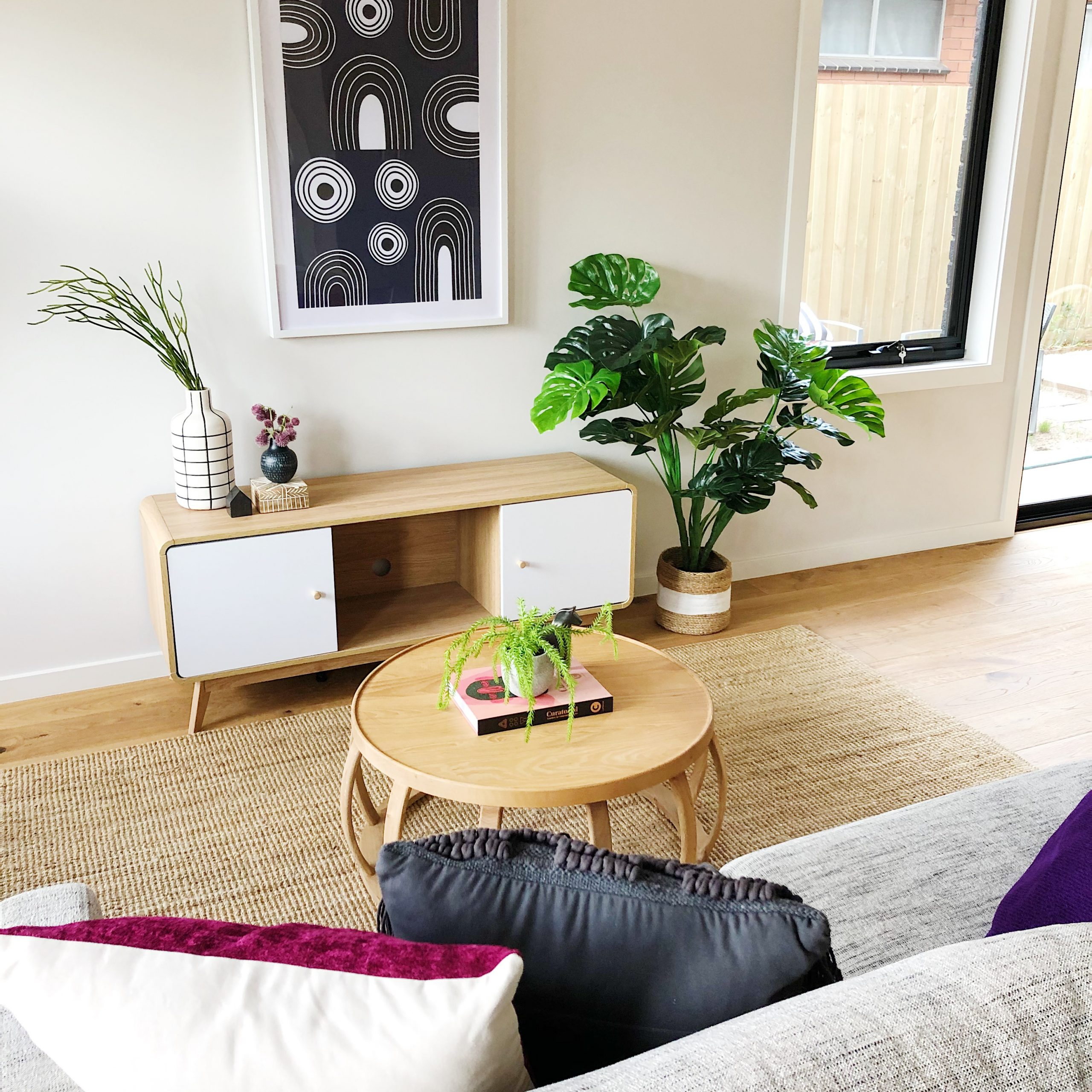 Living space - Melbourne Property Styling - Leeder Interiors