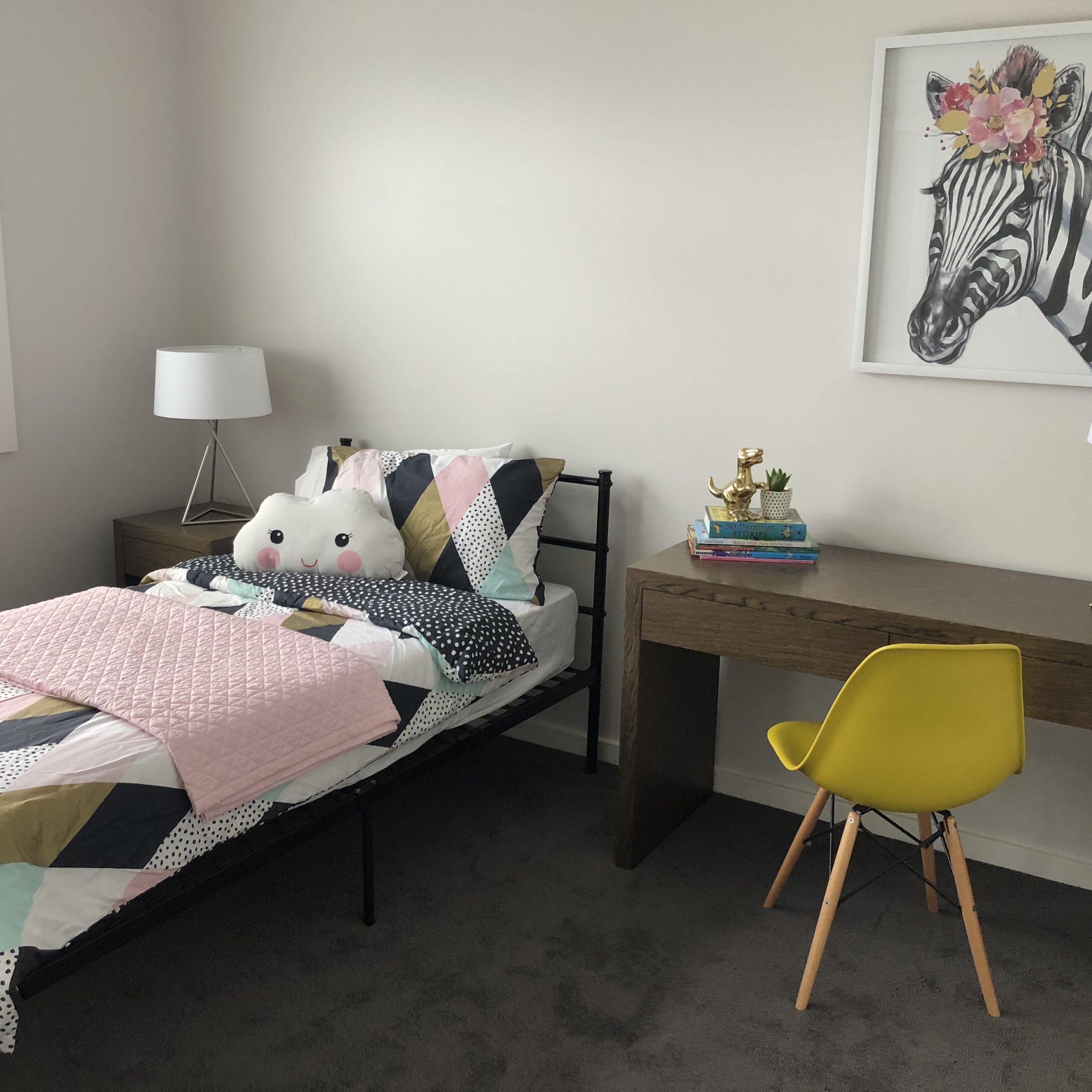styled children's bedroom heidelberg heights townhouse