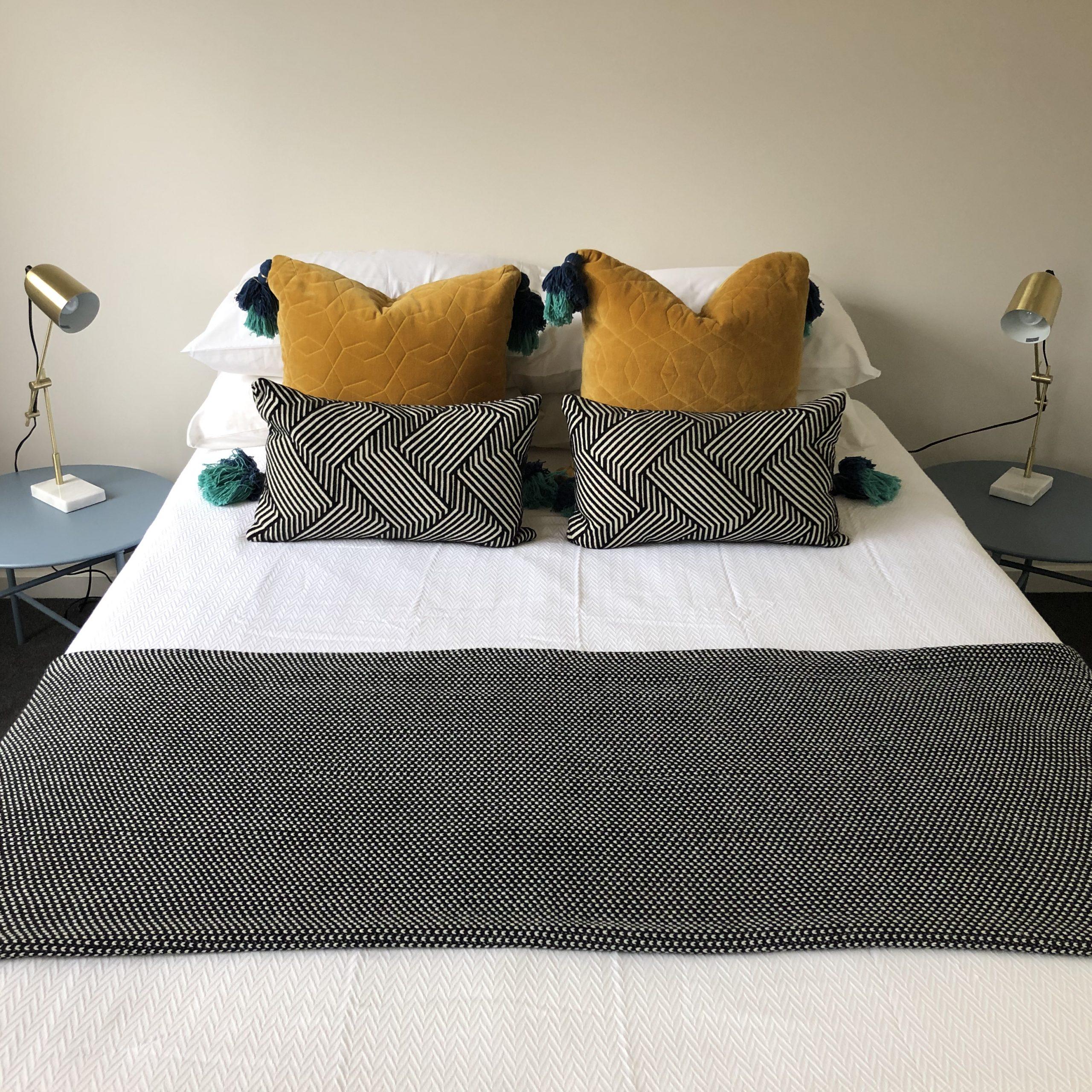 Styled guest bedroom Heidelberg Heights