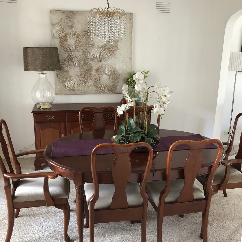 Traditional Dining Room - Melbourne Home Staging - Leeder Interiors