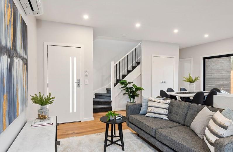 modern living room - Interior Styling Melbourne - Leeder Interiors