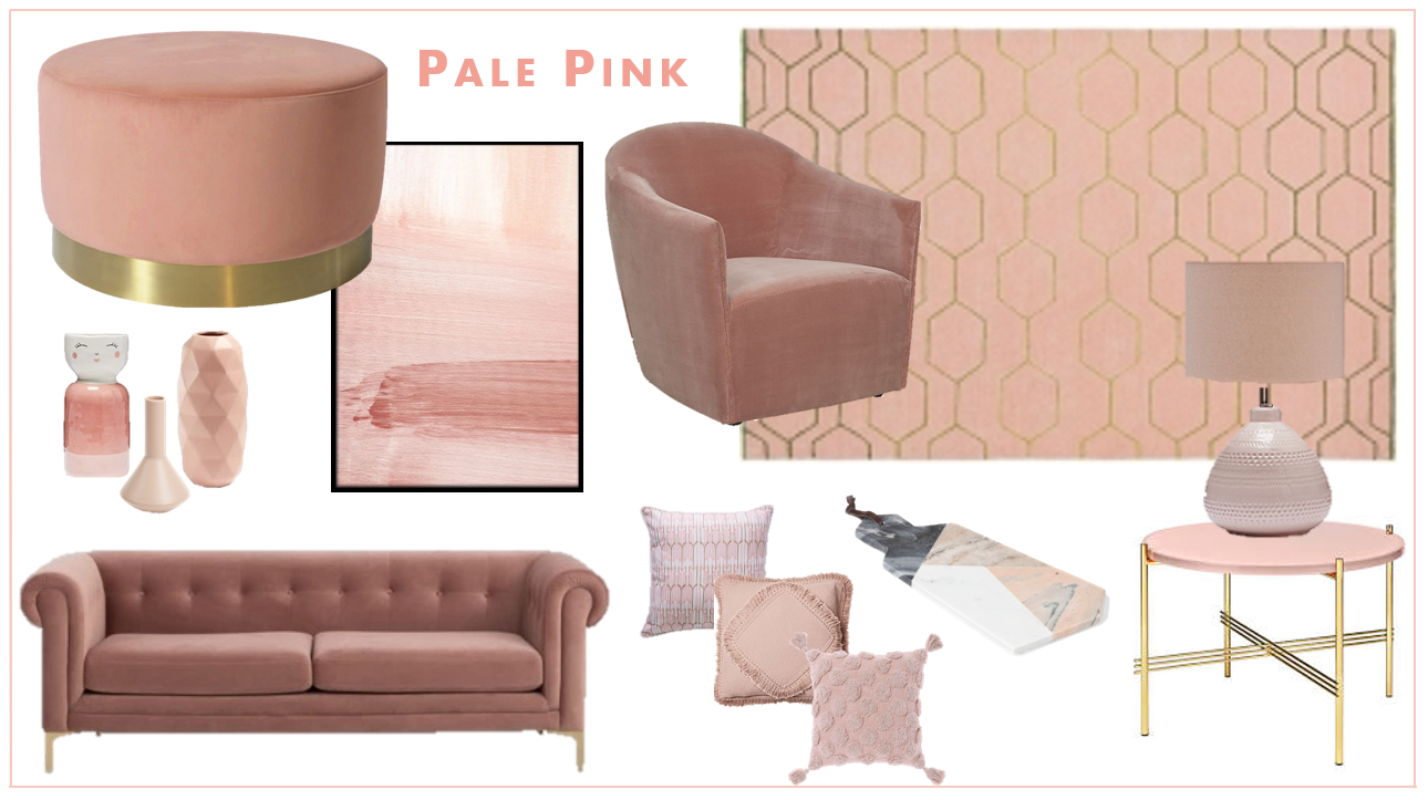 Pale pink interior trends - Interior Design Melbourne - Leeder Interiors