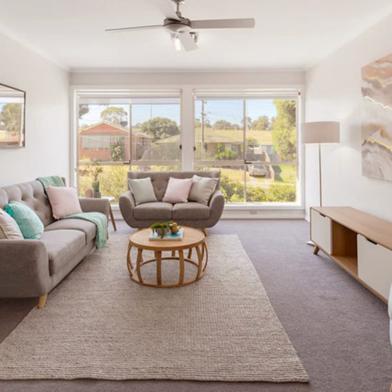 Melbourne Property Styling // Leeder Interiors // Colourful Style