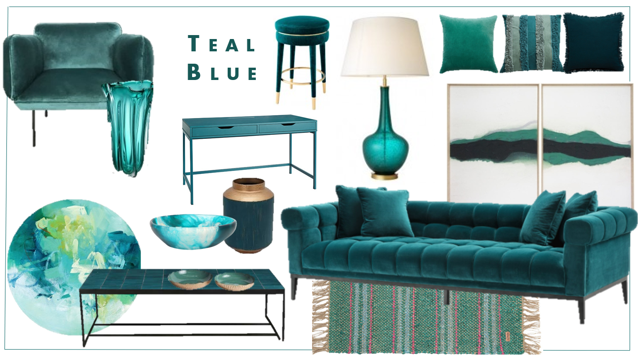 Colour of the moment... Teal